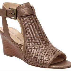 Adrienne Vittadini Roseanne Wedge Sandals, 10